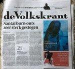 Burnout Volkskrant 2017